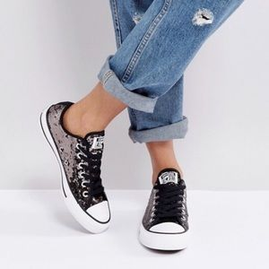 NEW Converse Chuck Taylor All Star Sequins Sneaker